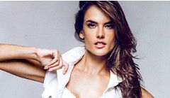 Alessandra Ambrosio w seksownych jeansach