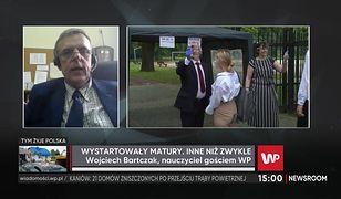 """Wojciech Bartczak o starcie matur. """"Emocjonalnie było to ważne"""""""