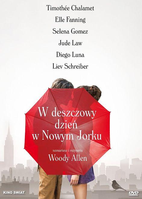 """""""W deszczowy dzień w Nowym Jorku""""... może się zdarzyć wszystko. DVD już do kupienia"""