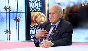 Kornel Morawiecki, marszałek senior, ojciec wicepremiera, ministra finansów i rozwoju - Mateusza