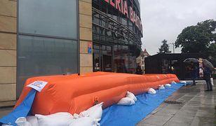 Galeria Bałtycka zagrożona powodzią. Już raz ją zalało