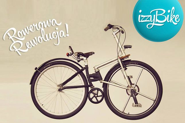 Izzybike: Polak wymyślił rower bez łańcucha