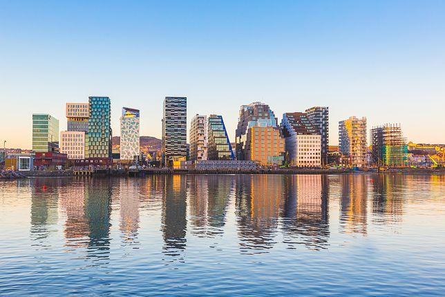 Oslo znajduje się na brzegu jednego z największych norweskich fiordów