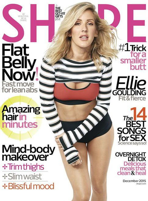 "Ellie Goulding na okładce ""Shape"""