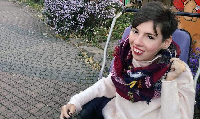 Z powodu epidemii koronawirusa Kasia zmuszona była wstrzymać rehabilitację