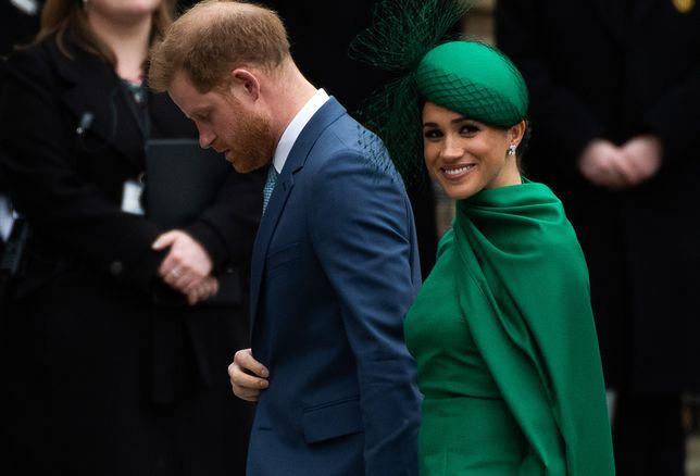 Meghan Markle i książę Harry podczas obchodów Święta Wspólnoty Narodów w Opactwie Westminsterskim