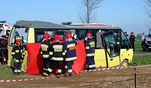 Ranni zostali przetransportowani do szpitali w Sławnie, Koszalinie i Słupsku