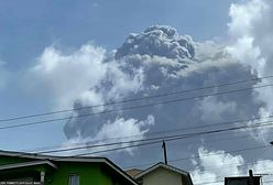 Wybuch wulkanu La Soufriere. Ewakuacja na wyspie