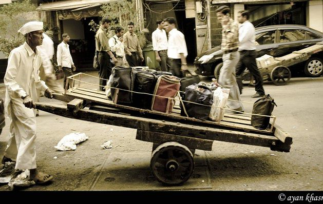 Dharavi, Mumbaj, Indie