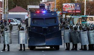 Białoruś. Protesty na ulicach Mińska