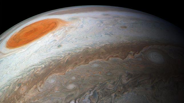 Jowisz mógł pochłonąć inną planetę na etapie kształtowania się