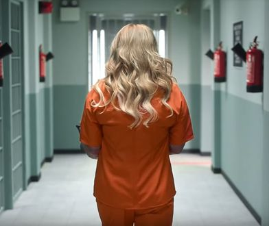 "Beata Kozidrak w nowej reklamie ""Orange is the New Black"""