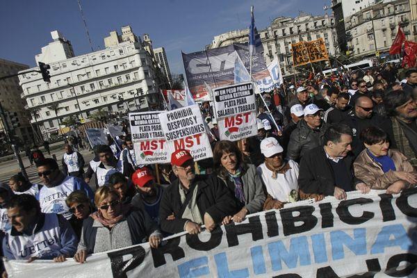 Demonstracja zablokowała główne arterie miasta