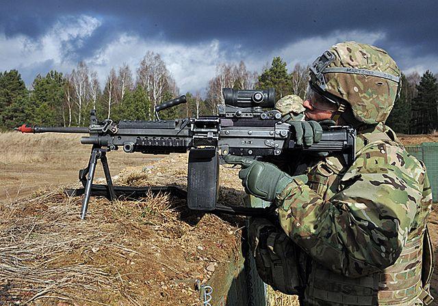 Polsko-amerykańskie strzelanie - zdjęcia