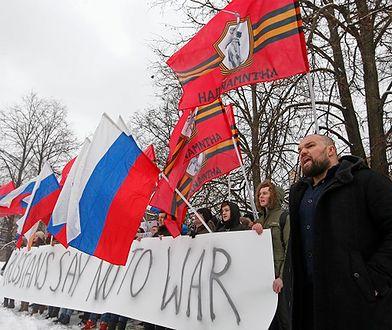 Moskwa: protest przeciwko rozmieszczeniu sił NATO w Polsce
