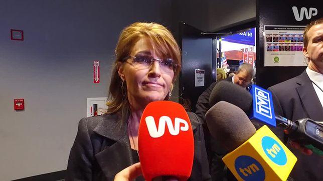 Sarah Palin dla WP: Donald Trump ma rację, chcąc dogadać się z Rosją