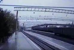 Zawalił się most kolei transsyberyjskiej. Nagranie wideo