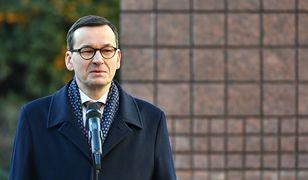 Premier Mateusz Morawiecki odsłonił tablicę upamiętniającą jego ojca - Kornela