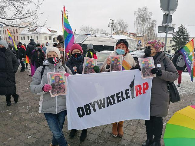 Aktywiści przed sądem w Płocku