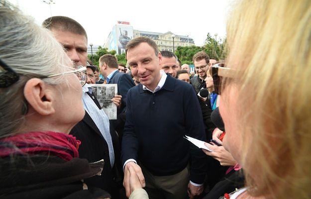 Andrzej Duda zapowiedział, że wystąpi z PiS