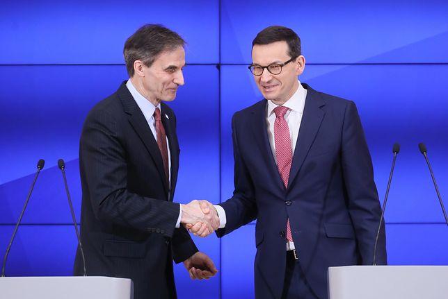 Mateusz Morawiecki stwierdził, że utworzenie izby jest wzmocnieniem polskiej obecności w USA