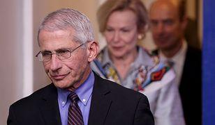 Szef Narodowego Instytutu Chorób Zakaźnych (NAID), 79-letni Anthony Fauci jest na kwarantannie.