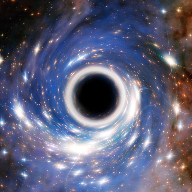 Czarna dziura zgłodniała? Naukowcy w szoku