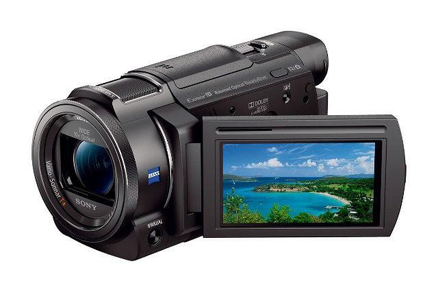 Nowa, niewielka kamera 4K od Sony - AX33