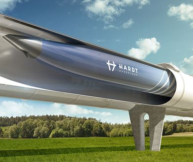Hardt Hyperloop planuje połączyć kraje europejskie