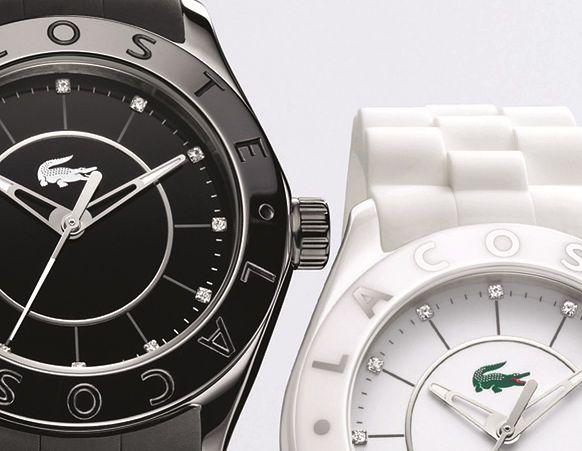 Ceramiczne zegarki Lacoste