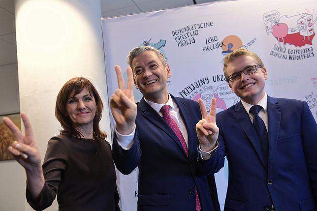 Robert Biedroń ze swoimi ekspertami