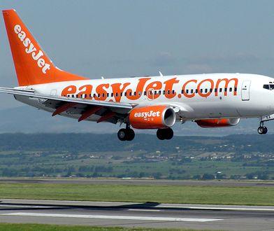 Samoloty easyJeta pomalowane są na biało i pomarańczowo