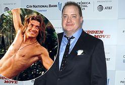 Brendan Fraser już tak nie wygląda. Po przystojniaku nie ma śladu