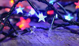 Lampki LED świetnie się sprawdzą w roli całorocznej ozdoby wnętrz