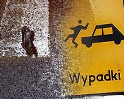 Kierowca w Jastrzębiu Zdroju potrącił kobietę na przejściu dla pieszych.