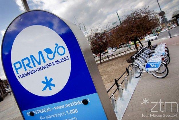 Stacji rowerów miejskich w Poznaniu będzie jeszcze więcej niż zakładał ZTM
