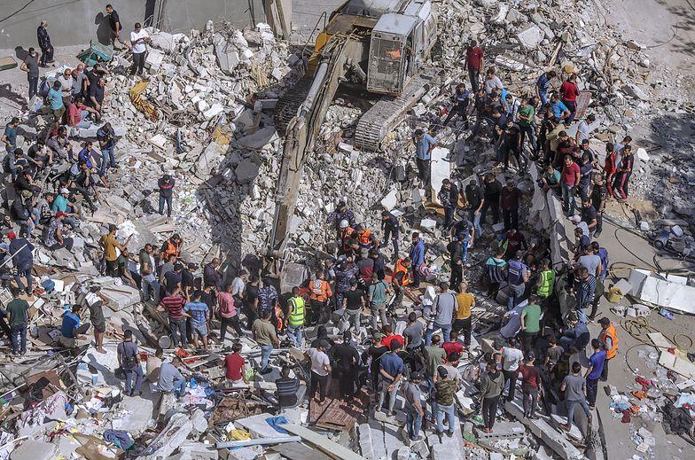 Horror trwa. Najbardziej krwawy dzień w Gazie. Zginęły dzieci
