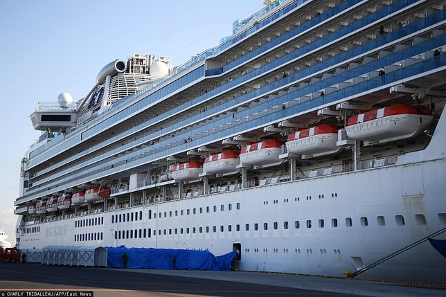 Na pokładzie Diamond Princess znajduje się 3711 osób