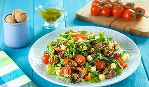 Orzechy włoskie są świetnym składnikiem fit jedzenia