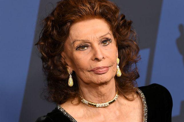 Sophia Loren powróci na ekrany w filmie swojego syna