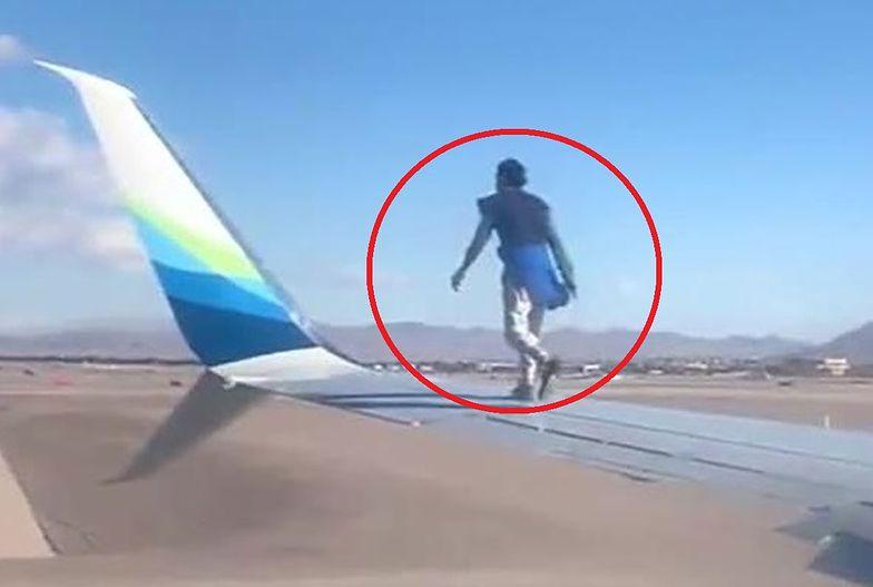 Samolot już miał startować. Wtedy stało się to