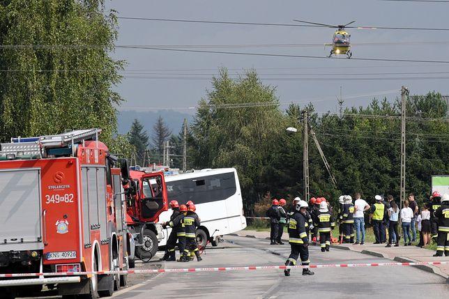 Rośnie liczba ofiar wypadku w Świniarsku pod Nowym Sączem