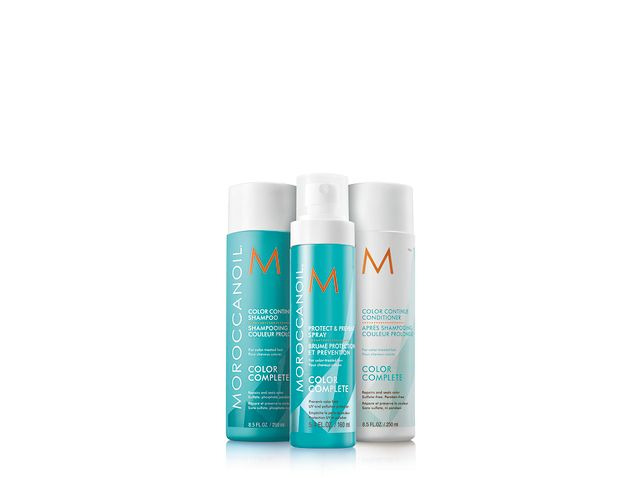 Moroccanoil Color Complete. Kompletny system pięciu produktów, który utrzymuje intensywność koloru włosów między wizytami w salonie