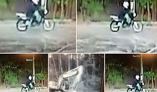 Motocyklista potrącił dziecko i uciekł