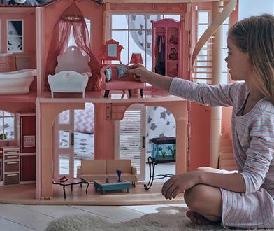 Elegancki domek dla lalek zapewni dziecku długie godziny wspaniałej zabawy