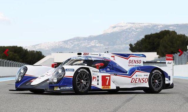 Toyota TS040 HYBRID wystartuje w Le Mans