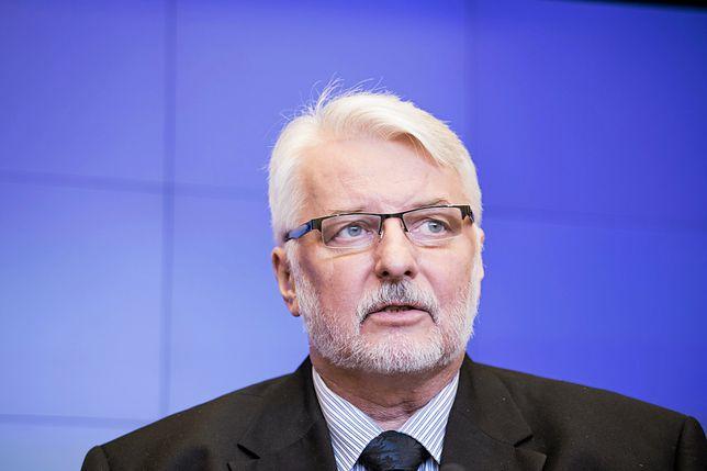 Witold Waszczykowski liczy na to, że Polska nie poniesie żadnych konsekwencji