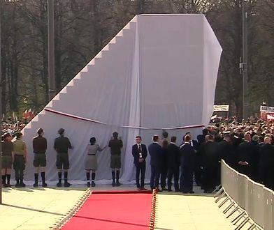 Odsłonięcie pomnika smoleńskiego. Nasz reporter był na miejscu