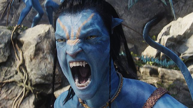 "Sam Worthington w filmie ""Avatar"""