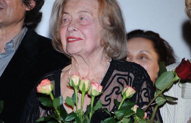 Nina Andrycz zmarła w 2014 r. w wieku 101 lat
